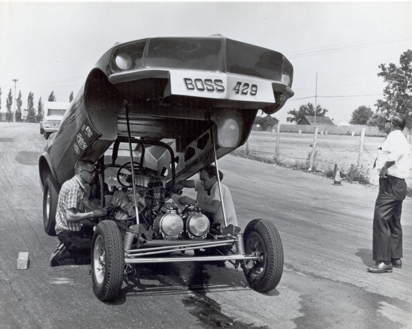 Bill Wayne Boss429 engine