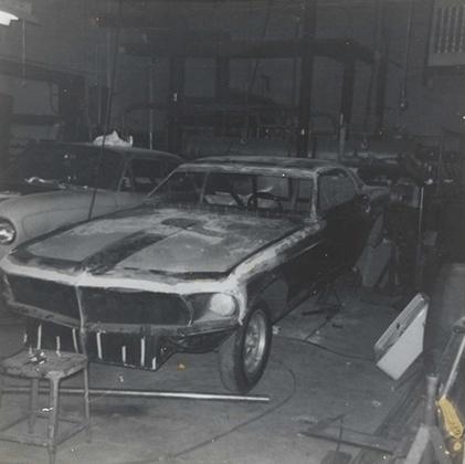 Mustang Build 2