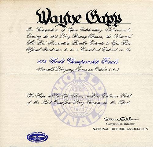 1973 invite