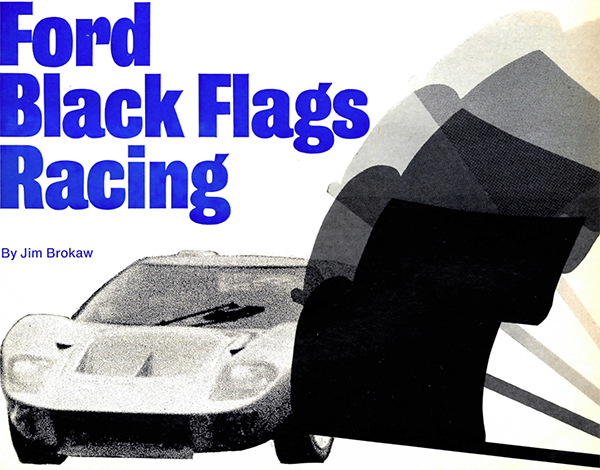 1 Ford Black Flags Racing